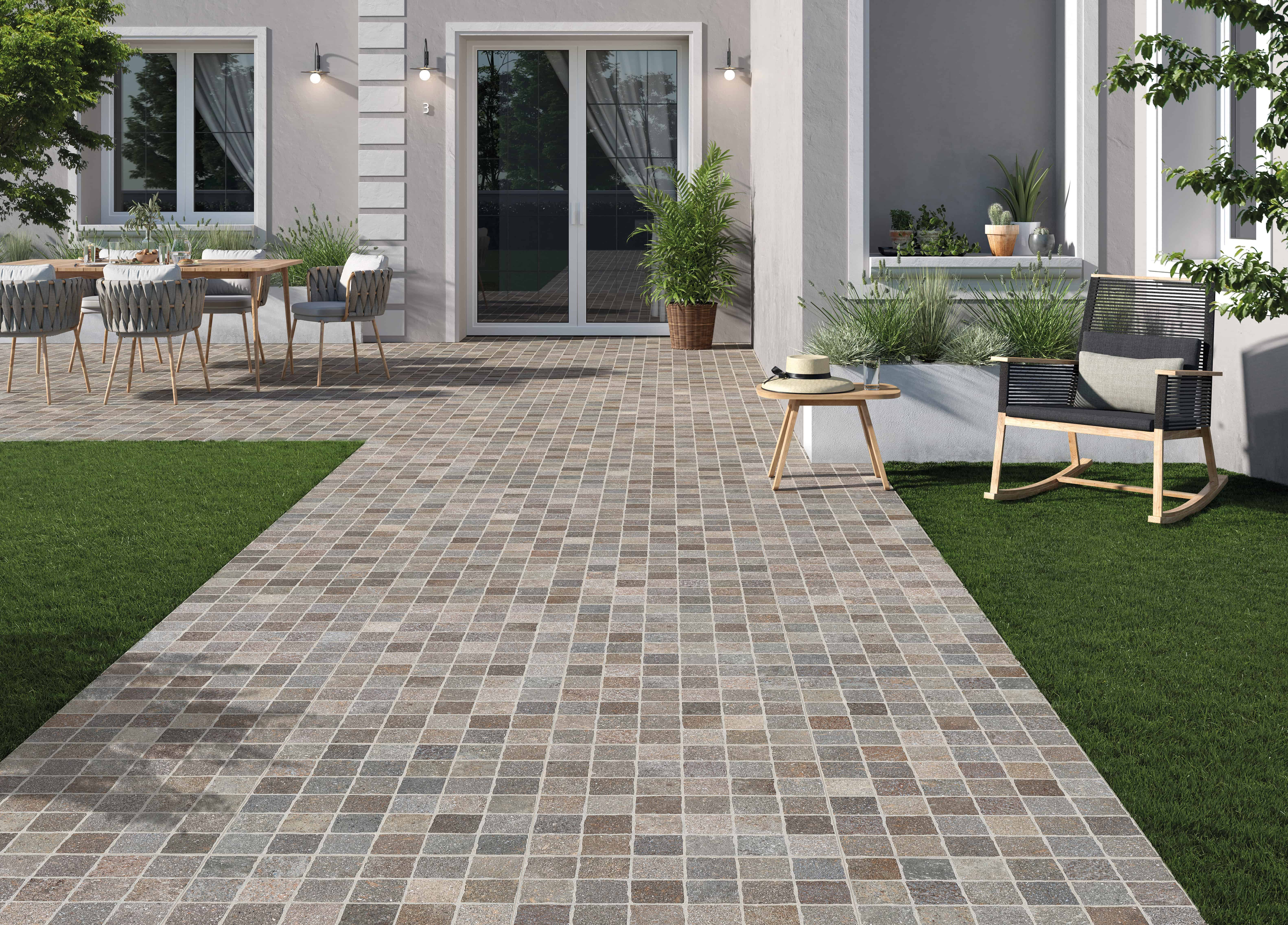 Create a Classic Italian Style with Outdoor Tile | EMC Tiles