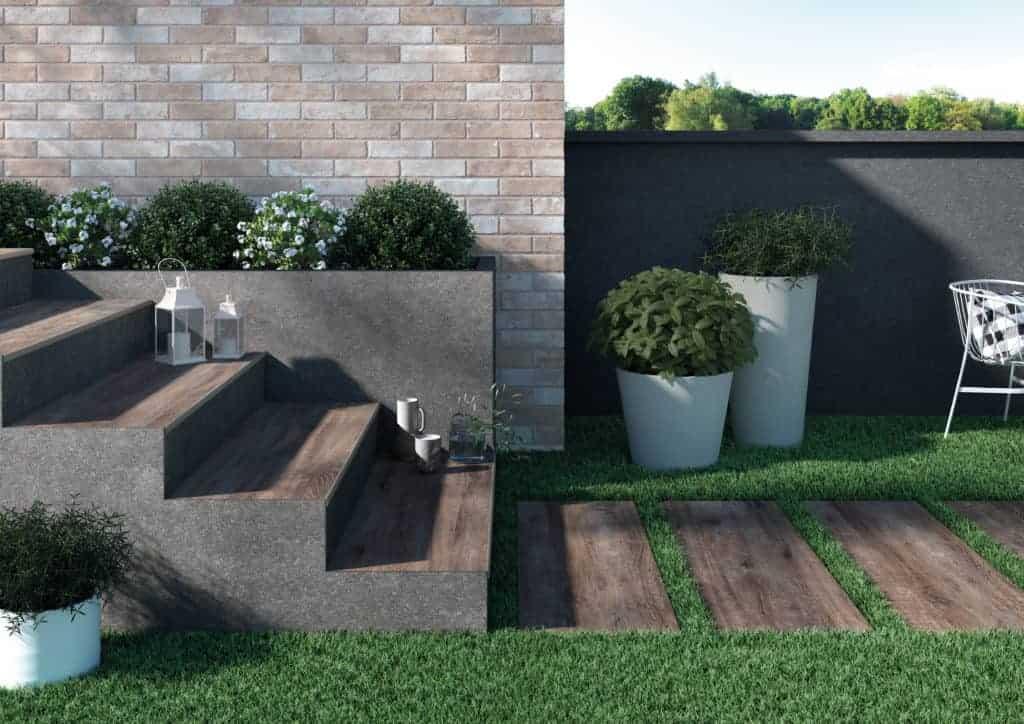 rondine ceramica GREENWOOD h20 collection outdoor indoor floor tiles brown