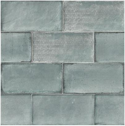 esenzia mare green gloss ceramic wall tile - emc tiles