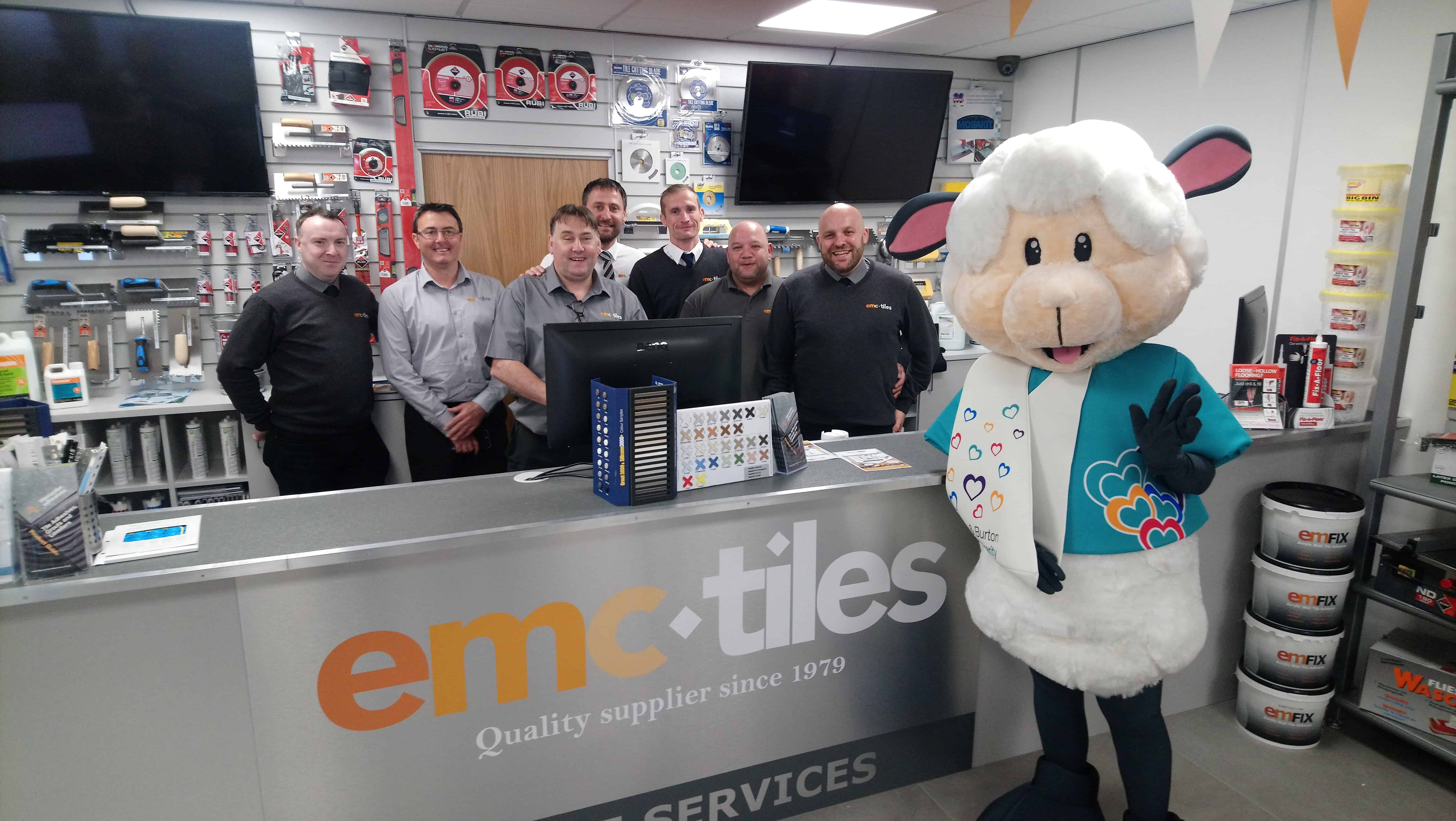 emc tiles community charity work about us derby opening