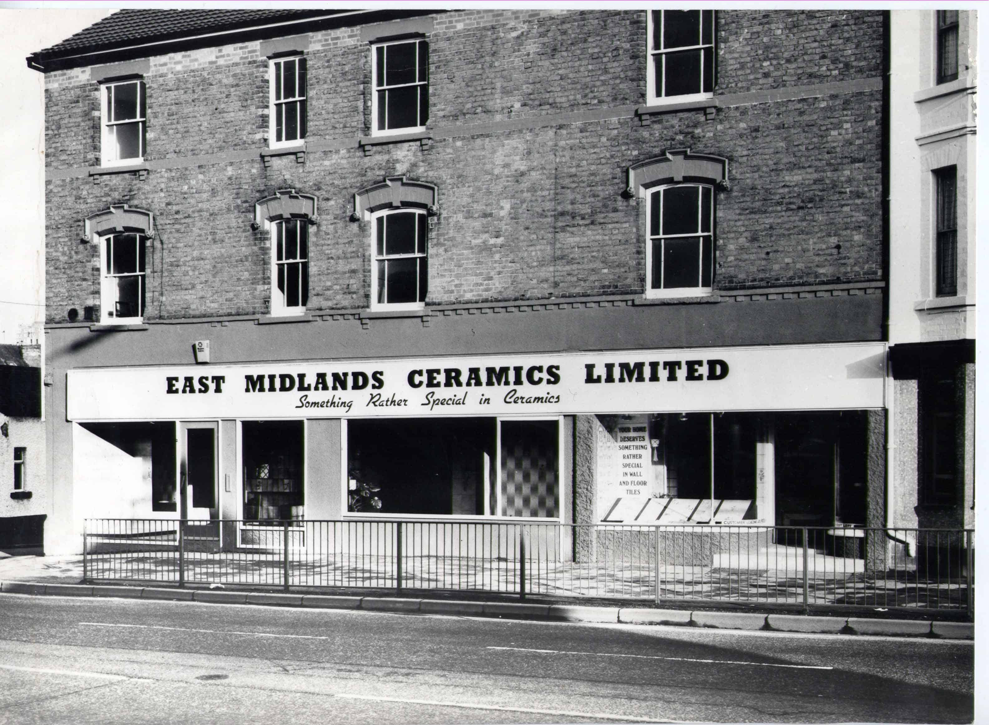 east midlands ceramics history photo emc tiles sherwood nottingham