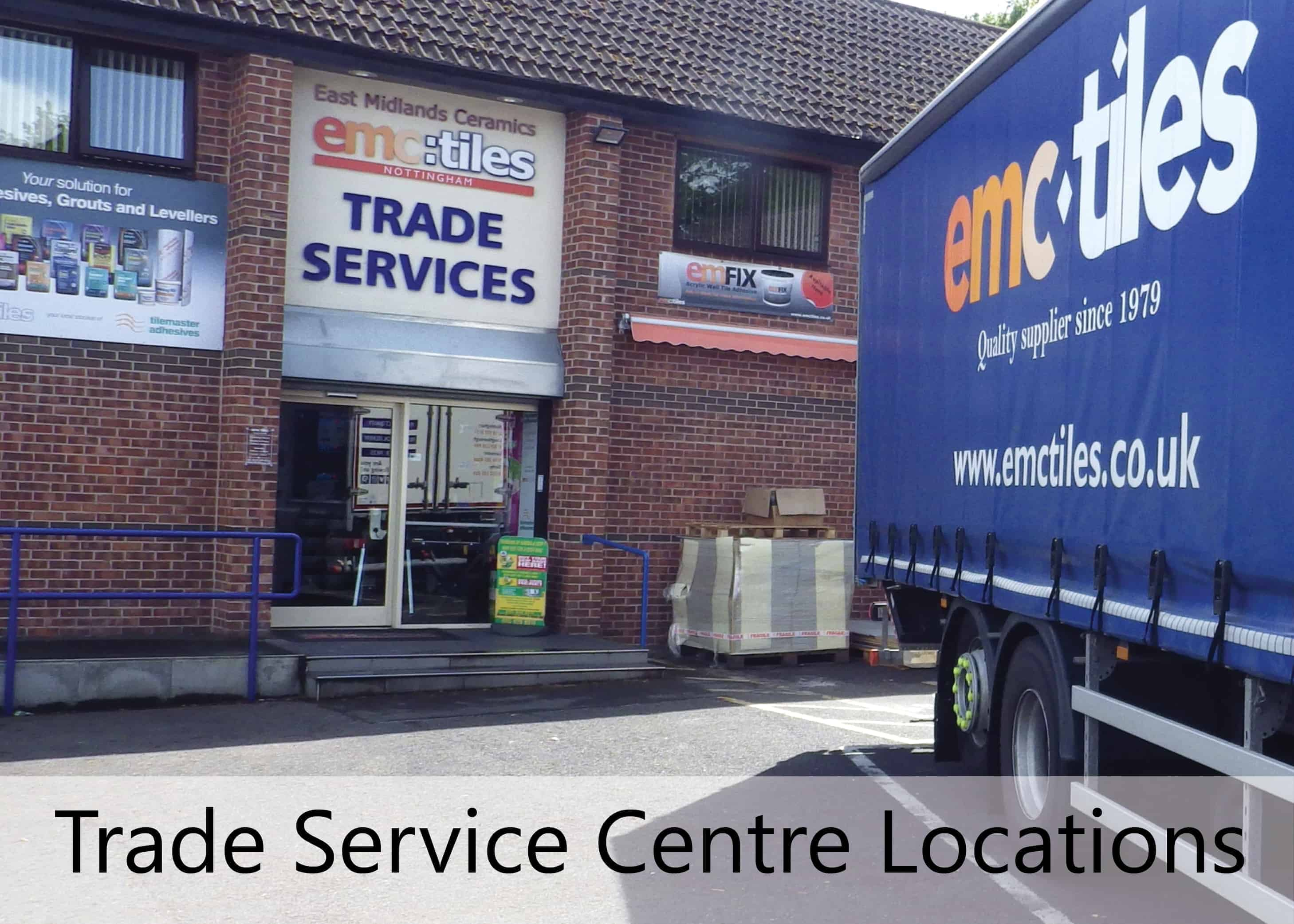 emc tiles trade service cetnres loughborough leicester nottingham derby
