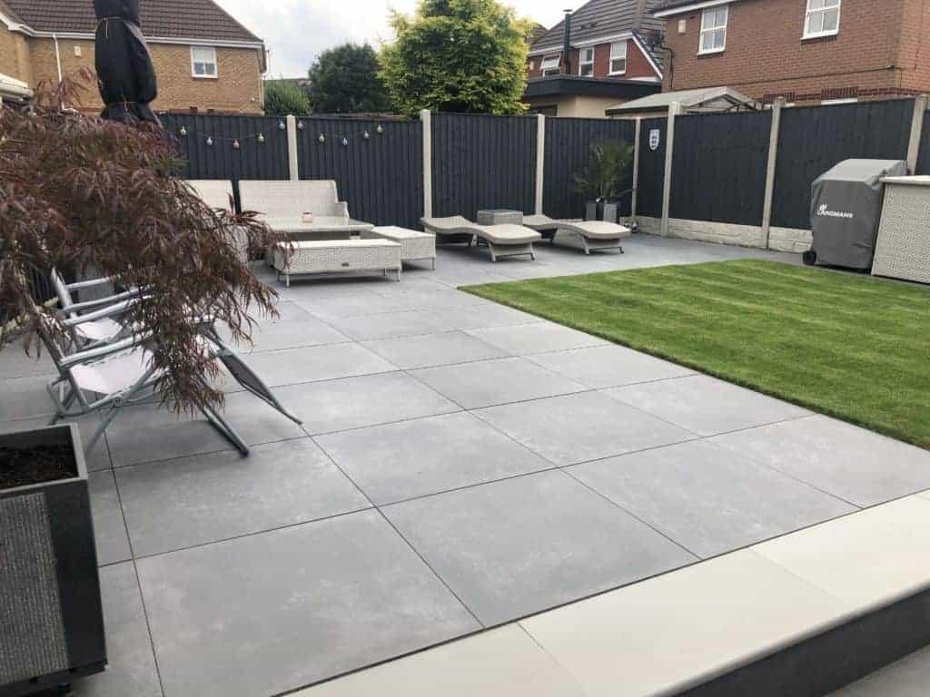 emc Native 80x80 outdoor floor tiles garden design concrete slab tiles