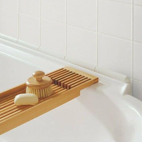 Prg1 Bath Trim Set White Ceramic Emc Tiles