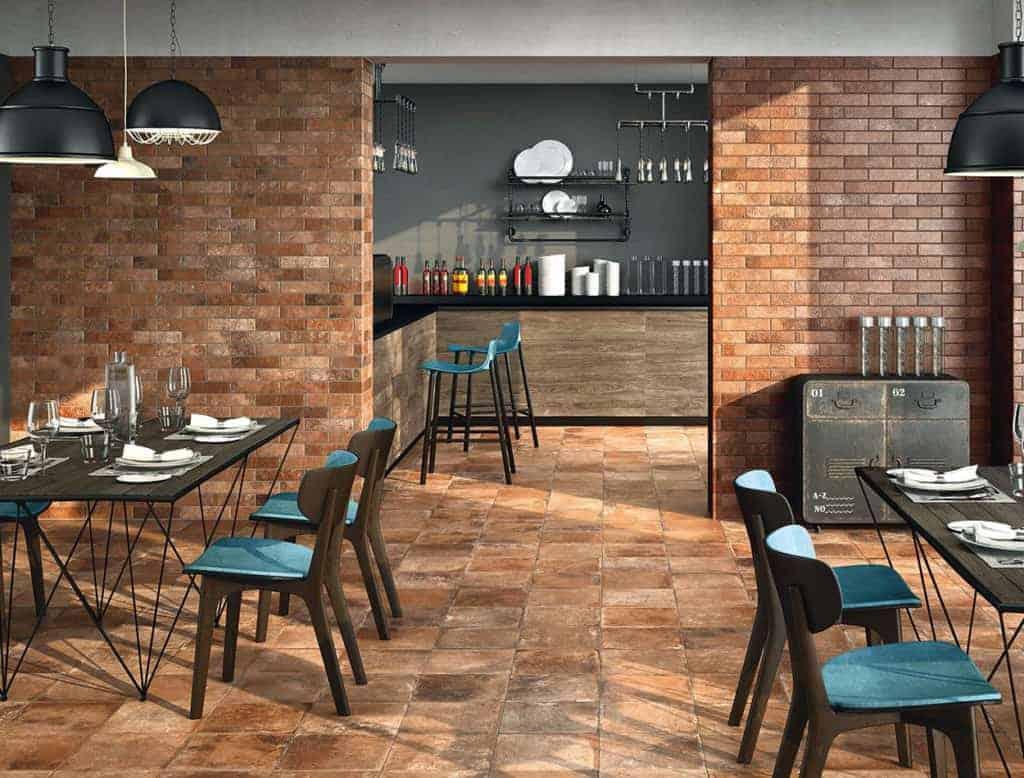 Materia Rosso Matt Floor Tile