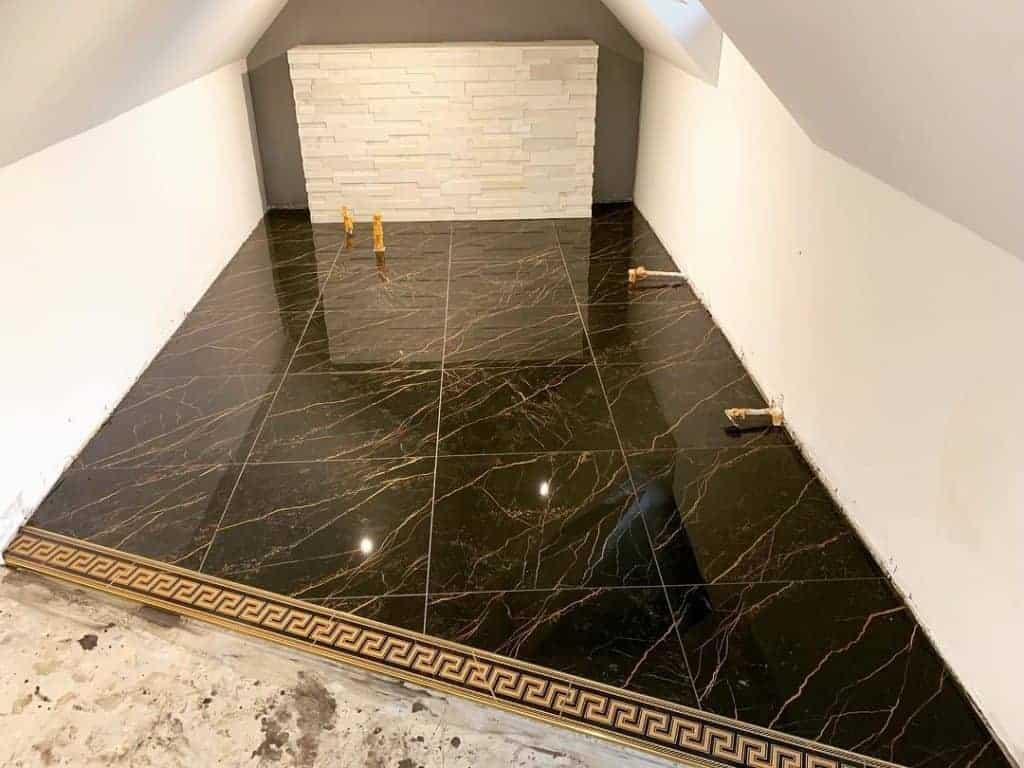 Versace tiles black gold marble floor tiles emc tiles flooring border tiles fashion