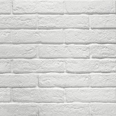 New York White Matt Brick Wall Tile Emc Tiles