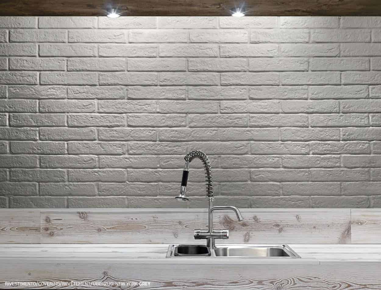 New York White Matt Brick Wall Tile Emc Tiles