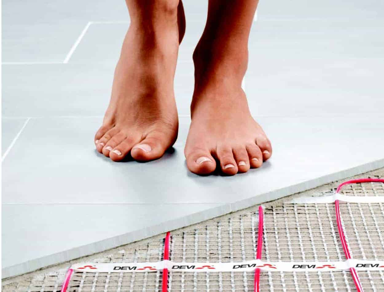 devi underfloor heating emc tiles