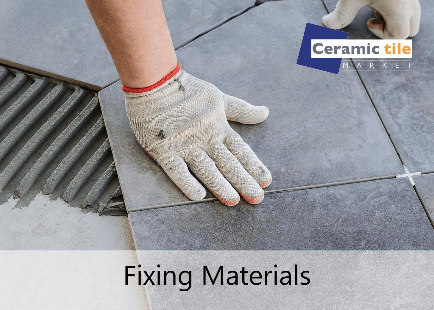 Fixing materials CTM block