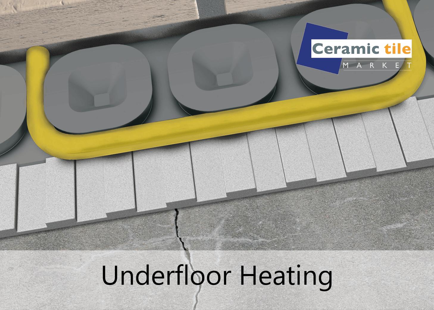 Underfloor heating CTM block