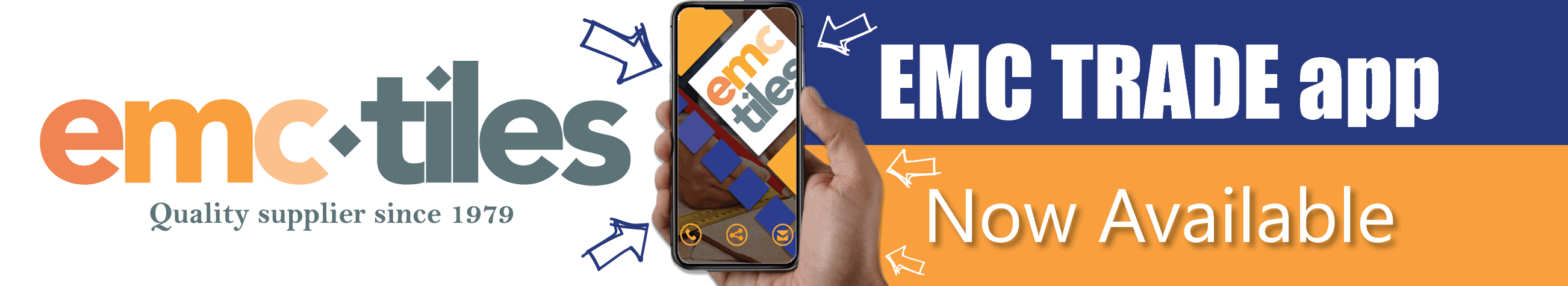 emc trade app now available to download apple and android tilers tiling