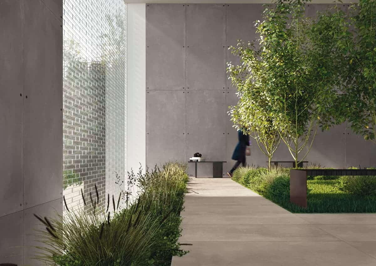 azuma imola ceramiche cement concrete effect indoor outdoor tiles