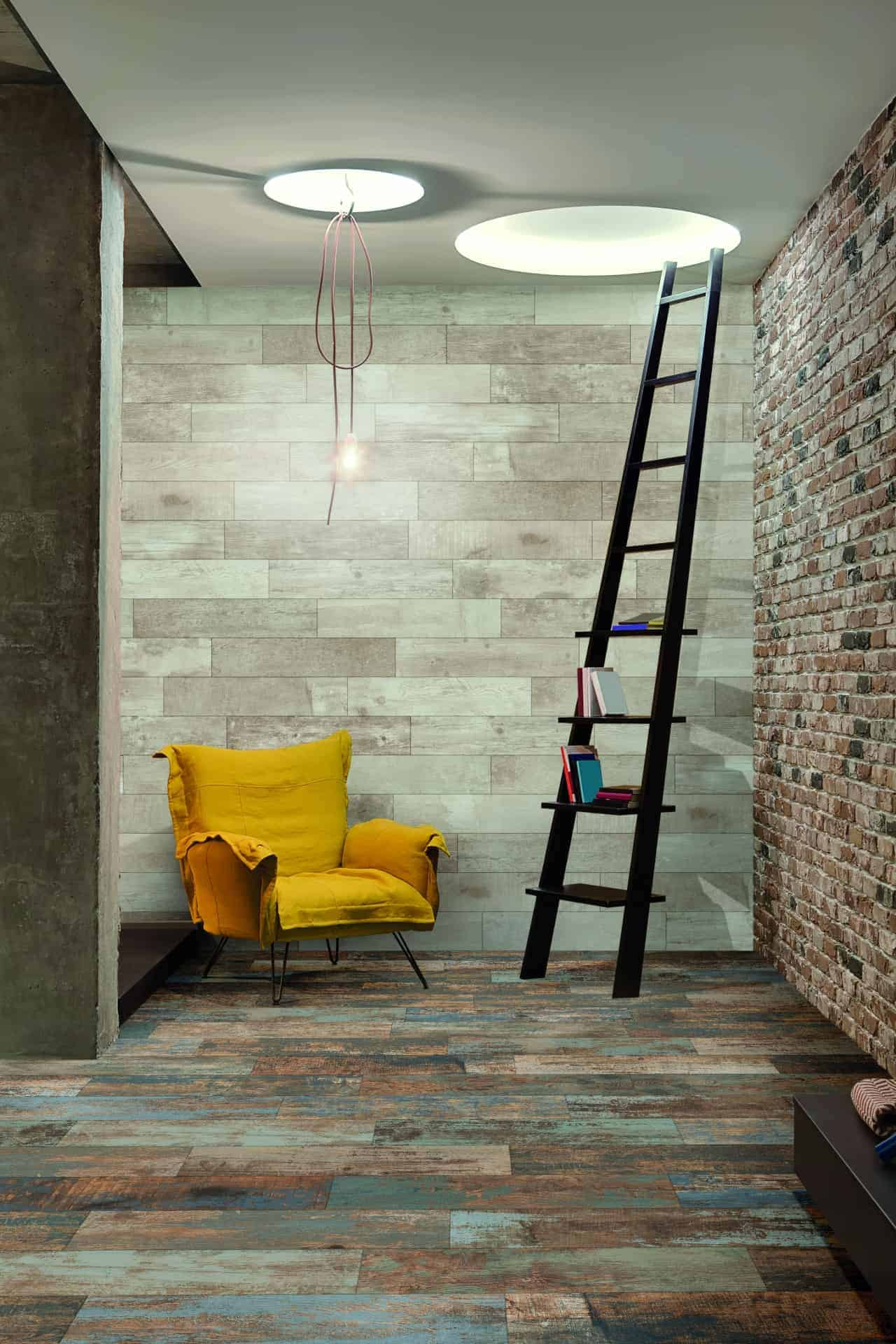 fulton multicolour wood effect tiles