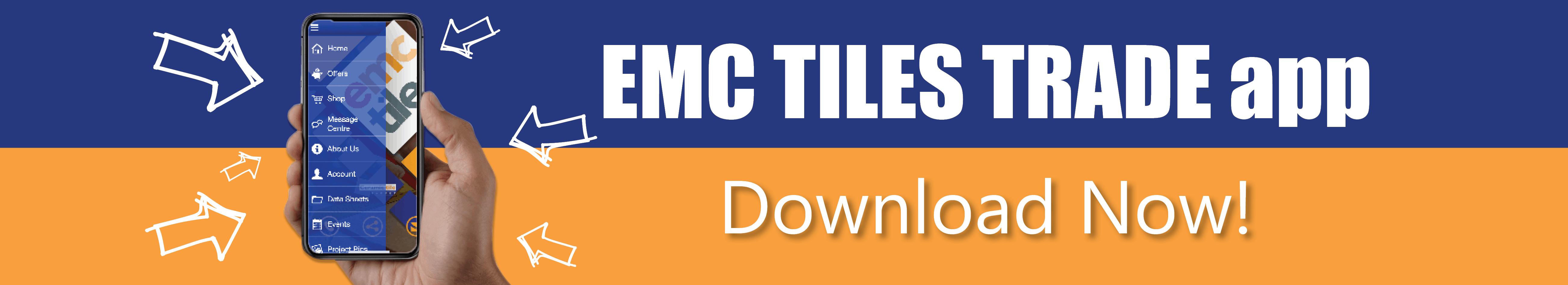 emc tiles trade app download now