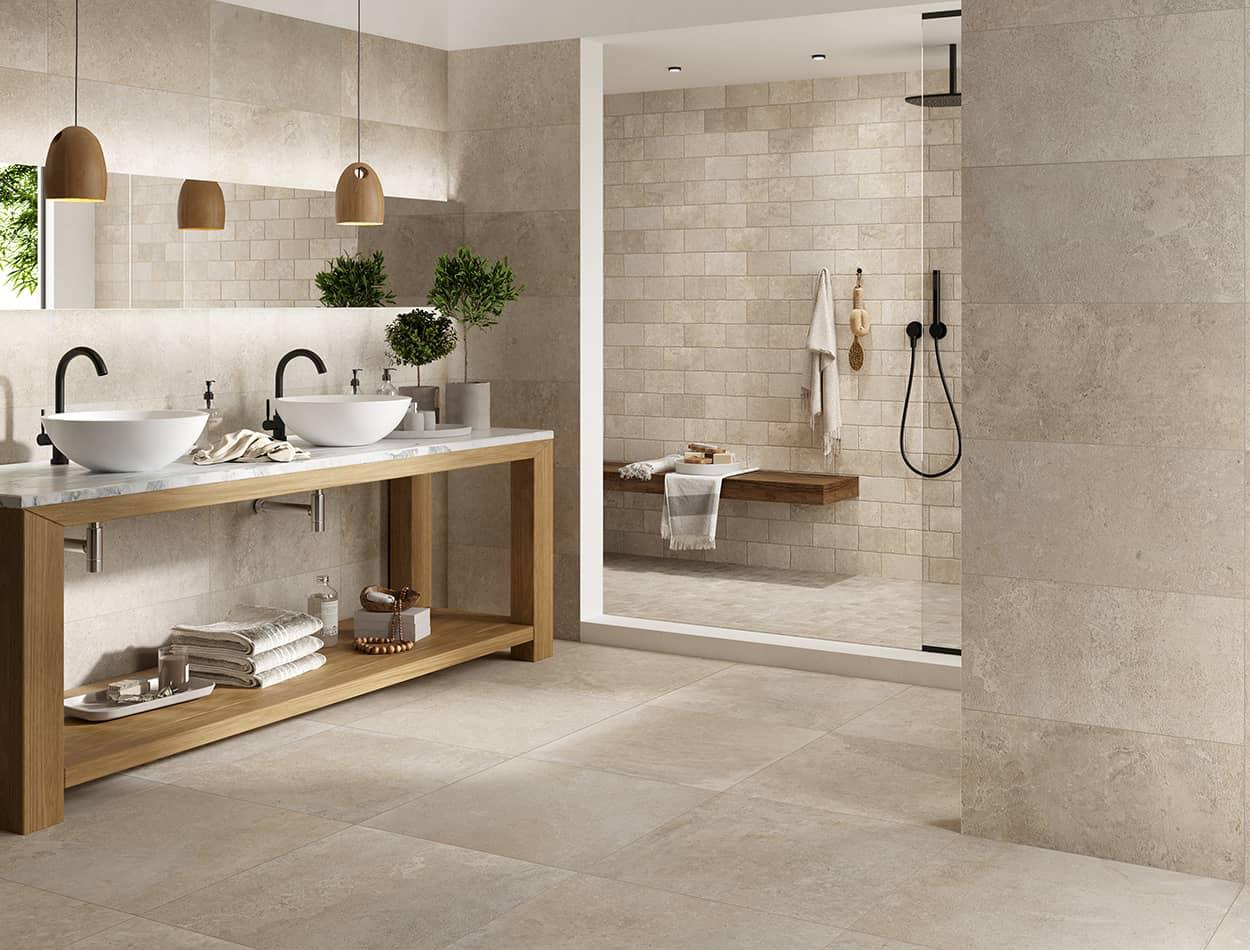 MAS DE PROVENCE_Ecru wall floor tile emc tiles
