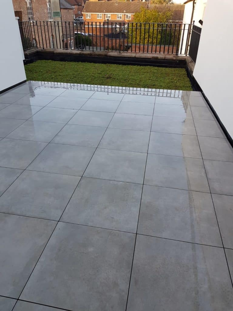 Lychgate Homes balcony outdoor 20mm Block emc tiles