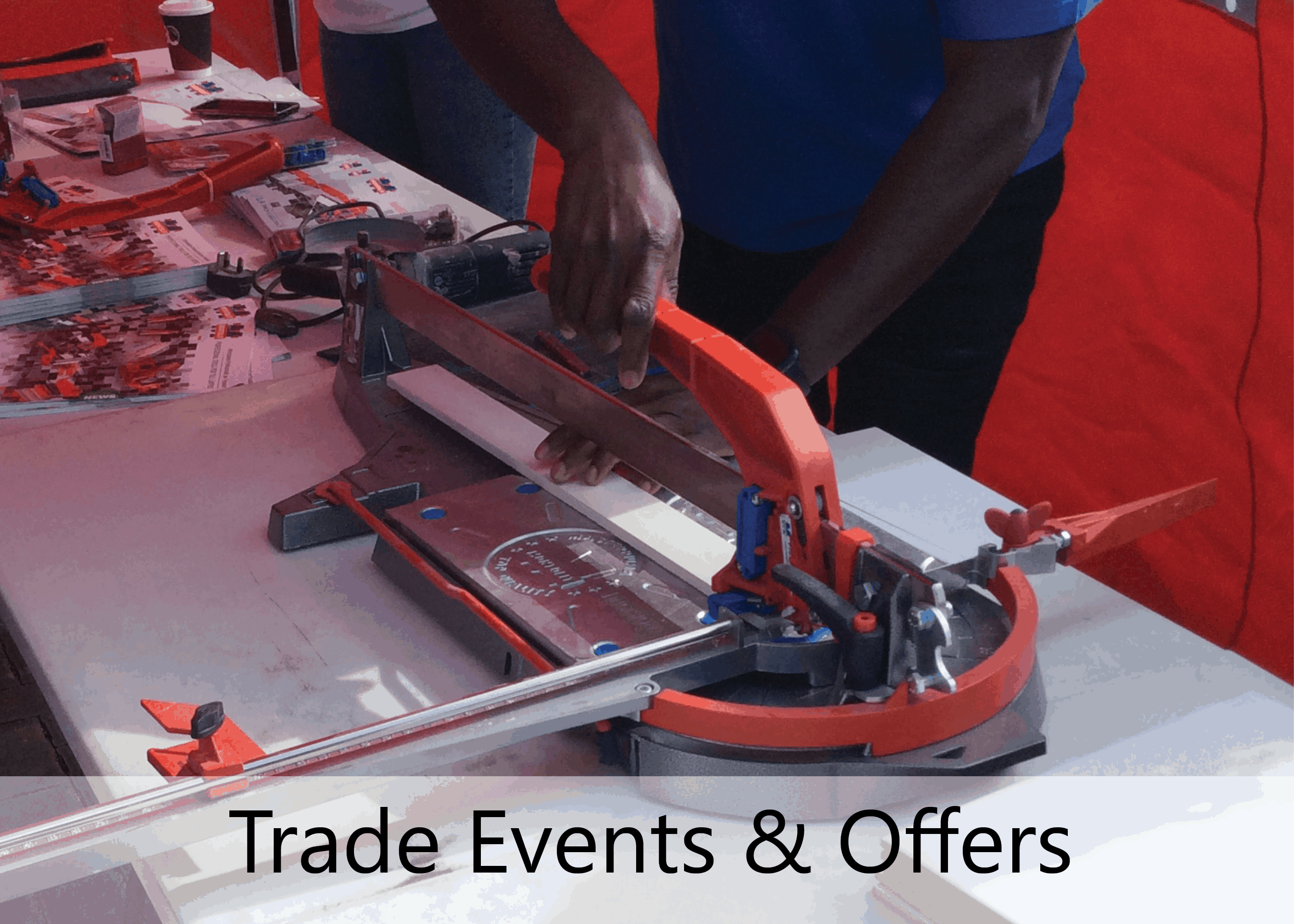 trade events and offers image web
