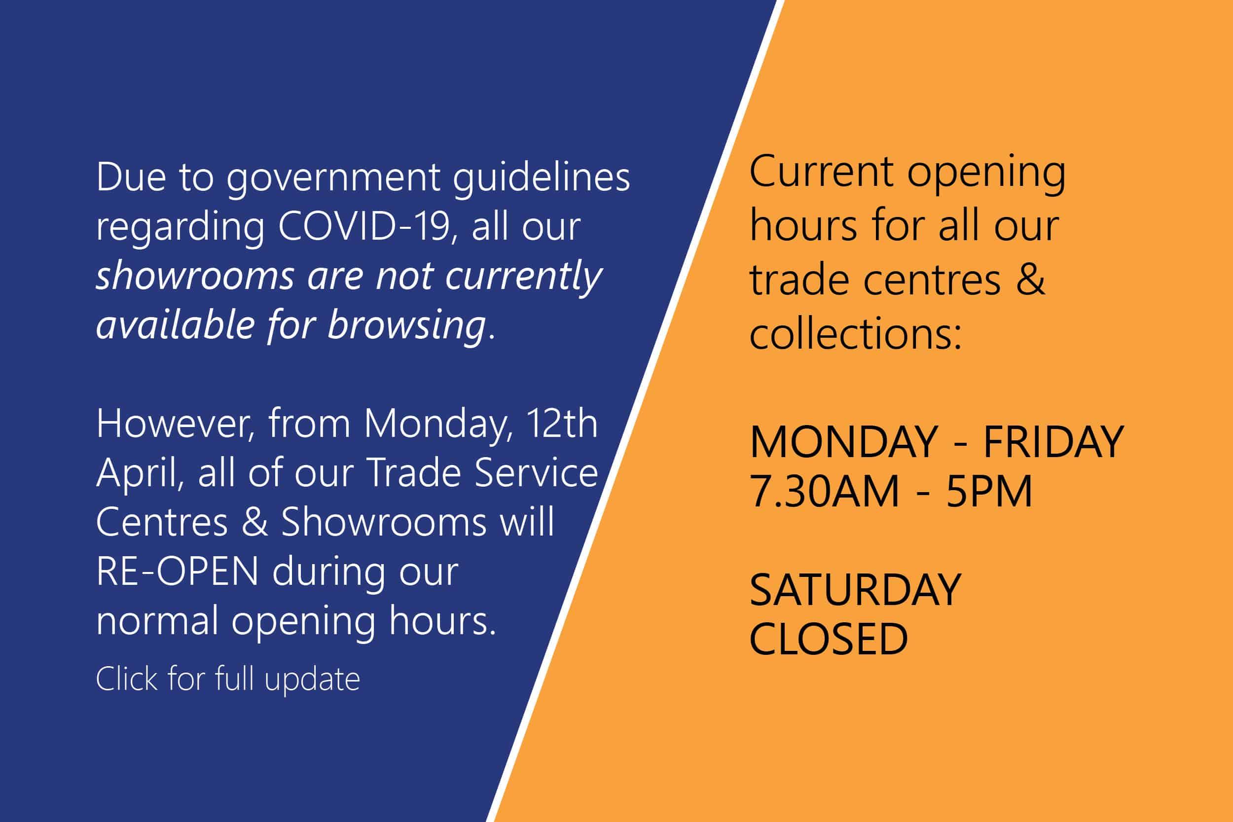 emc tiles reopen monday 12 april