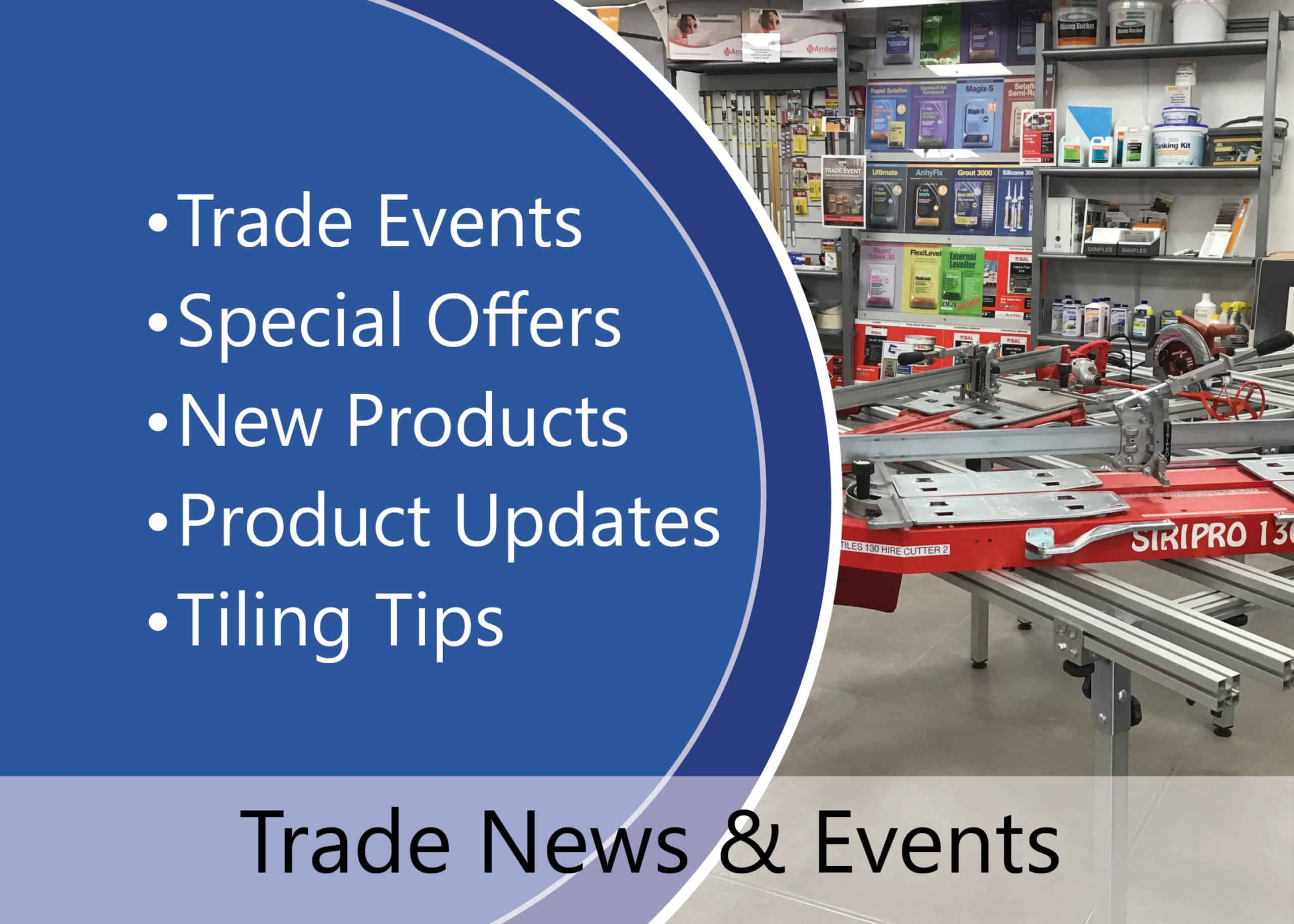 emc tiles trade account news, product updates tiling tips and events